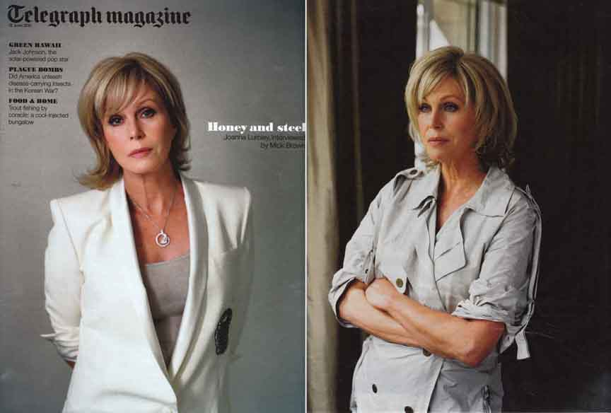Joanna Lumley, Actor