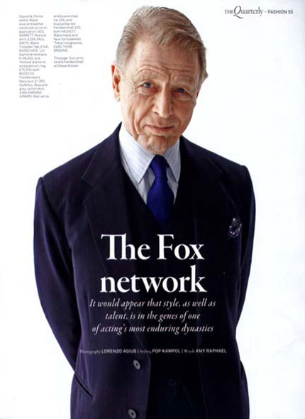 Edward Fox, Actor
